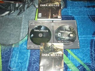 Dark Souls 2 Black Armor Edition Ps3 Completo Muy Buen Esta