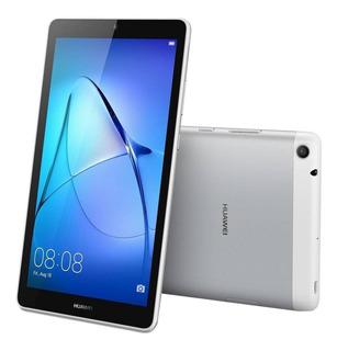 """Tablet Huawei MediaPad T3 7 BG2-W09 7"""" 8GB plateada lunar con memoria RAM 1GB"""