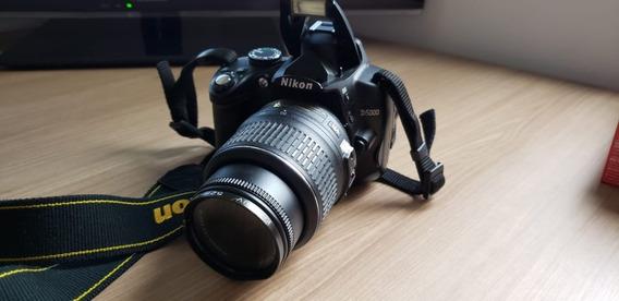 Camera Fotografica Nikon D5000 -super Nova - 13.577 Cliques