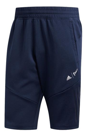 Short adidas 4krft Parley Azu De Hombre