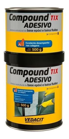 Compound Adesivo Tix Lata De 1kg