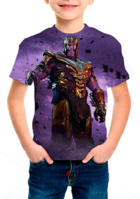 Camiseta Infantil - Vingadores Ultimato Thanos - M001