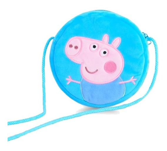 Cartera De Peluche De George Pig - Peppa Pig - Original
