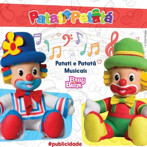 Bonecos Patati E Patatá Musicais - Cantam 5 Músicas !