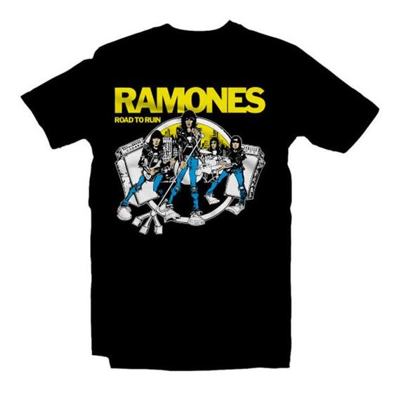 Playeras Ramones - 9 Diseños Disponibles