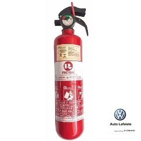Extintor Incêndio 3,5kg 8l0860277 Original Volkswagen