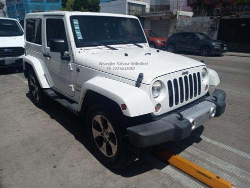 Imagen 1 de 9 de Jeep Wrangler Sahara Un Limited 4x4 V6 Piel Eng $ 104,000