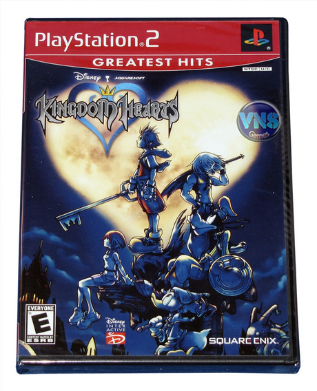 Kingdom Hearts - Ps2 - Americano - Original - Lacrado!