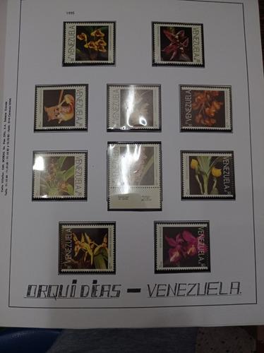 Imagen 1 de 8 de Álbum  Estampillas De Venezuela 1975-1995 En Serie,,, Nuevas