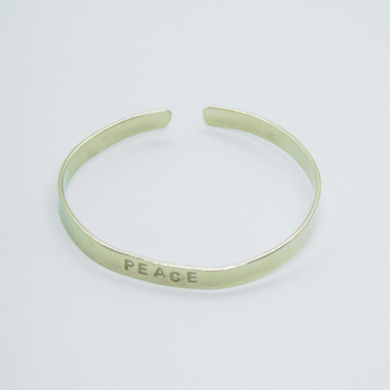 Brazalete Esclava Peace (5 Mm.)