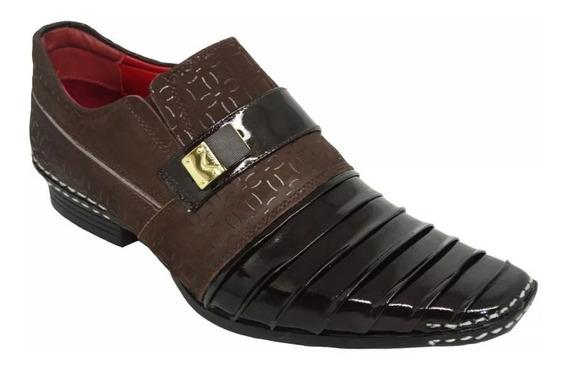 Sapato Social Masculino Calvest 1750c Elegante - Original
