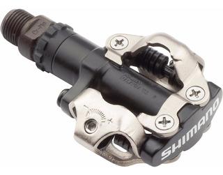 Pedales Mtb Shimano M520 Spd C/ Calas - Ciclos