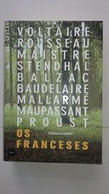 Livros Os Franceses, Editora Hedra, Ótimo Presente,