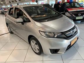 Honda Fit Fit Lx 1.5 Flex Cvt Automático - 2015 - Prata