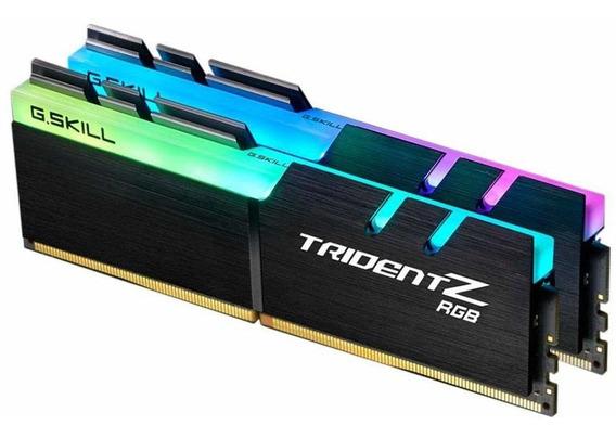Memoria Ram 16gb G.skill Tridentz Rgb Series (2 X 8gb) (pc4 25600) F4-3200c16d-16gtzr