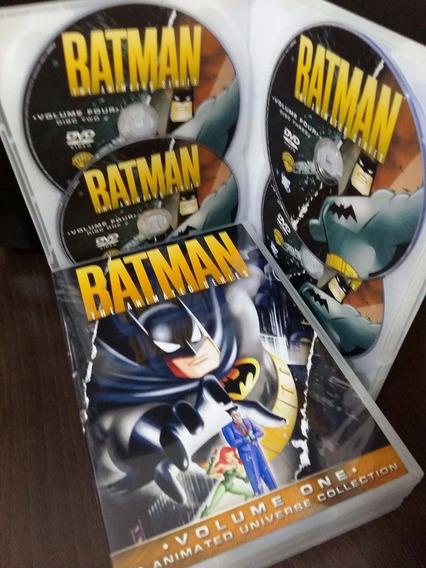 Dvd Batman Série Animada Anos 90 - 4 Temporadas Completa