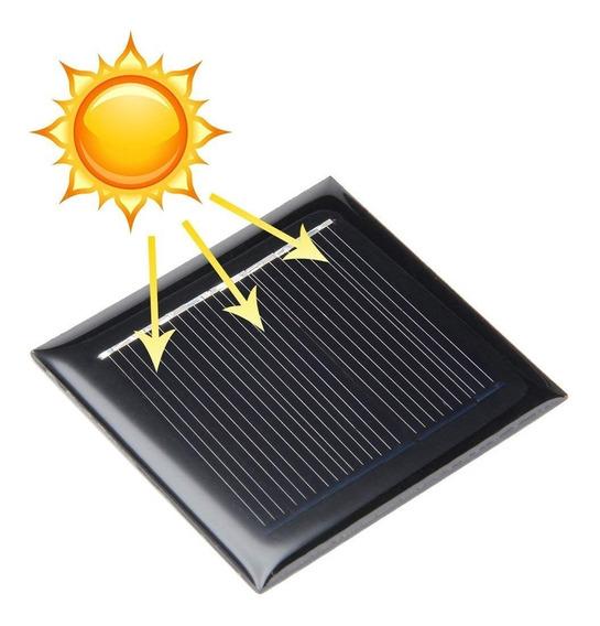 02 Mini Placa 3v 50ma - Solar * 0,15w