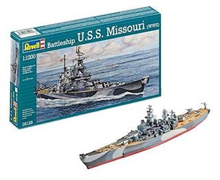 Revell Alemania Uss Missouri Bb-63 Modelo De Acorazado Kit