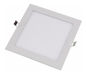 8 Plafon Luminaria Embutir Painel Teto Led Spot 18w