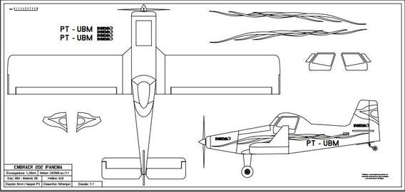 Planta Embraer Ipanema 202
