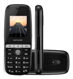 Celular Multilaser Up Play Dual Chip Tela 1,8 Preto - P9076