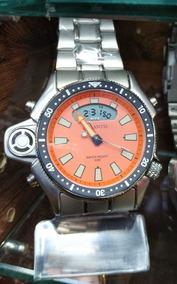 Relógio Atlantis Aqualand 100% Funcional Resistente À Água