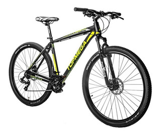 Bicicleta Mountain Bike R29 Top Mega Sunshine Aluminio + Kit