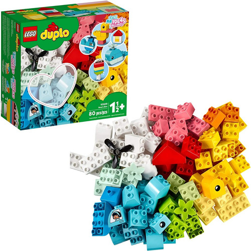 Lego Duplo Classic Heart Box 10909 Nuevo 2020 (80 Piezas)