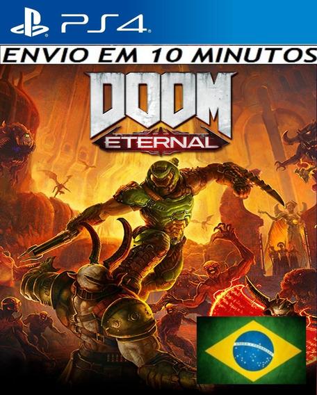 Doom Eternal Ps4 Digital 1ª Dublado Em Português