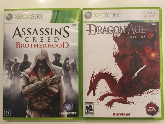 Assassins Creed Brotherhood + Dragon Age Origins Xbox 360