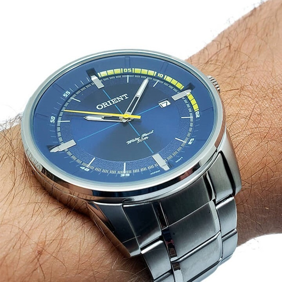 Relógio Masculino Orient Mbss1295 Nota Fiscal Garantia