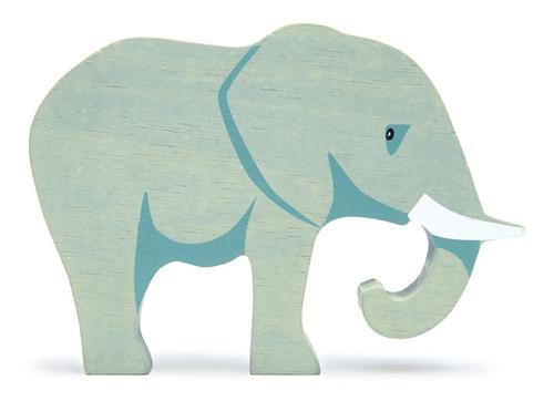 Imagen 1 de 3 de Juguete Animales De La Selva En Madera Elefante P Niños Febo