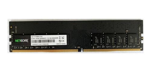 Memória Ram Para Pc 16gb 1x16gb Ddr4 3200mhz Net416388ud32