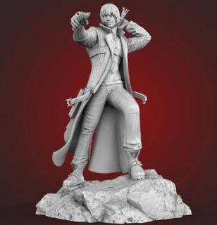 Muñeco, Figura De Acción Dante Devil May Cry, 28 Cm Imp.3d