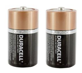 Pilha Duracell Alcalina Grande Tamanho D Pack Com 2 Mn1300b2