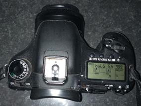 Canon 7d Uma Bateria Lente Cinquenta Milimetro Carregador
