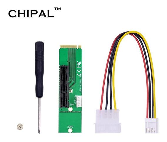 Adaptador Ngff M.2 Para Pci-e 4x Mineração Riser Btc Rig