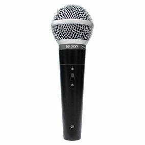 Microfone Com Fio Ls 50 Dinamico - Leson