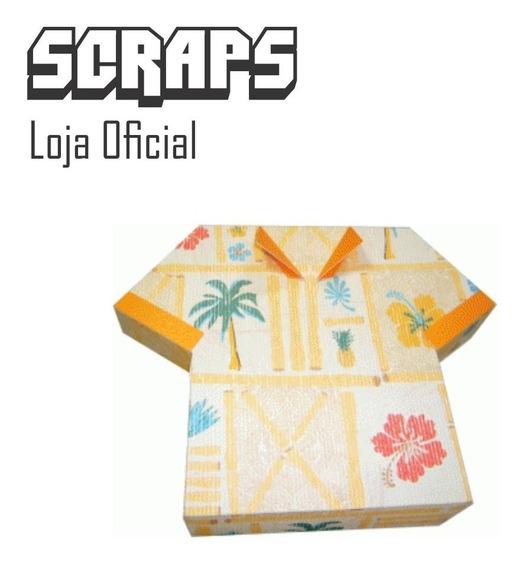 #0921 - Caixa Camisa 3d Com Tampa Pais - Arquivo Silhouette