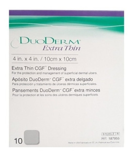 Parches Duoderm Et 10x10 Caja C/10 Pz Convatec