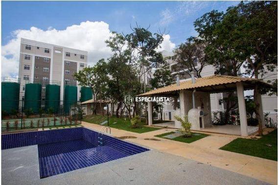 Apartamento Com 2 Dormitórios À Venda, 47 M² Por R$ 119.000 - Palmital - Lagoa Santa/mg - Ap0042