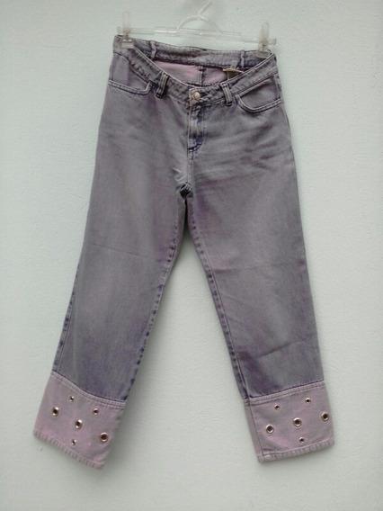 Calça Jeans Capri