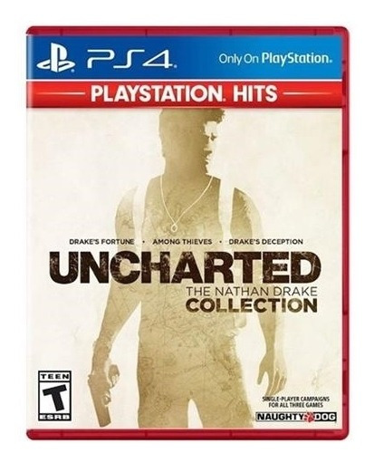 Uncharted The Nathan Drake Collection - Ps4 Lacrado