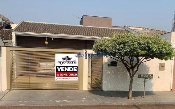 Casa Com 3 Dormitórios À Venda, 115 M² Por R$ 445.000 - Jardim Montecatini - Cambé/pr - Ca1103