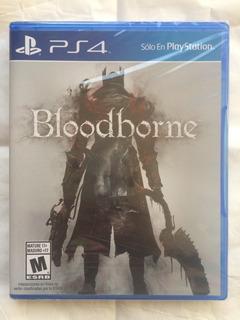Bloodborne Ps4. Nuevo Sellado Envíos.