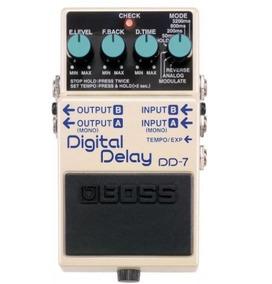 Pedal Boss Dd7 Digital Delay Original