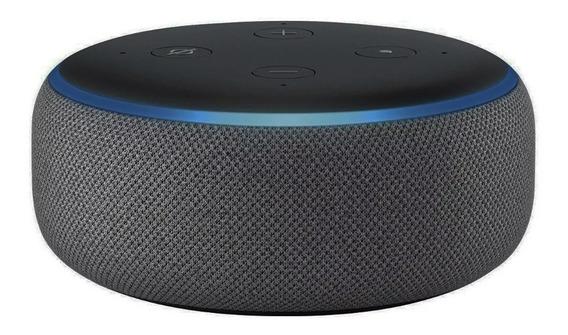 Alexa Echo Dot 3 Smart Speak Assistente Virtual Português