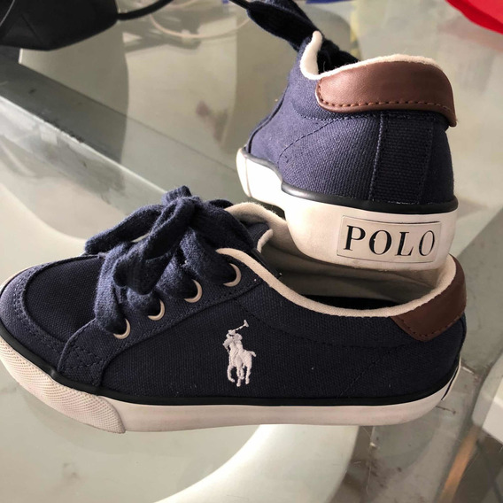 Tênis Polo Ralph Lauren Kids Original