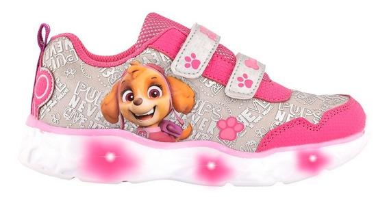 Zapatilla Luces Led Footy Licencias Disney Paw Patrol Peppa