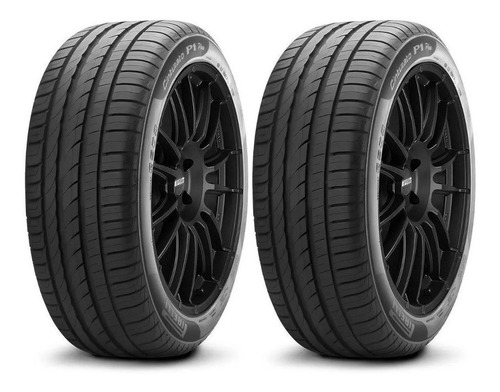 Imagen 1 de 5 de Kit X 2 Pirelli 195/55 R15 85v Cinturato P1 Plus Neumabiz
